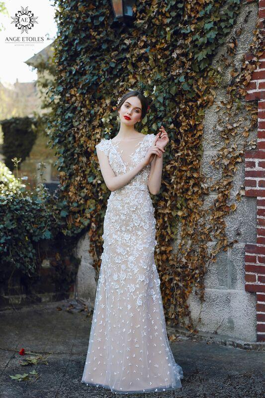 Свадебное платье напрокат Ange Etoiles Платье свадебное AEriality Collection Velari - фото 3
