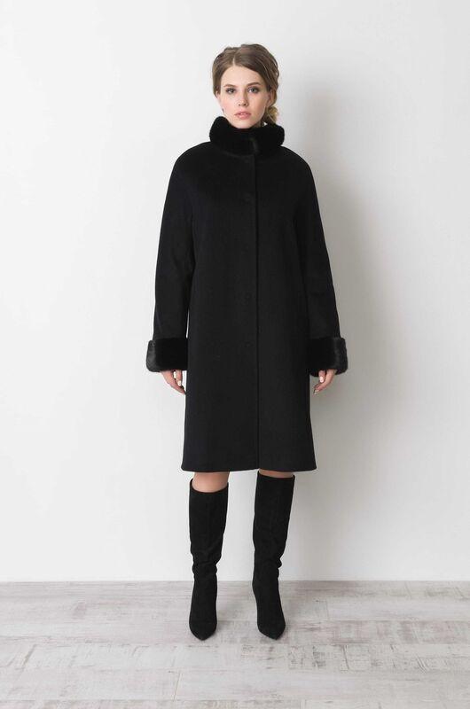 Верхняя одежда женская Elema Пальто женское зимнее Т-6593 - фото 1