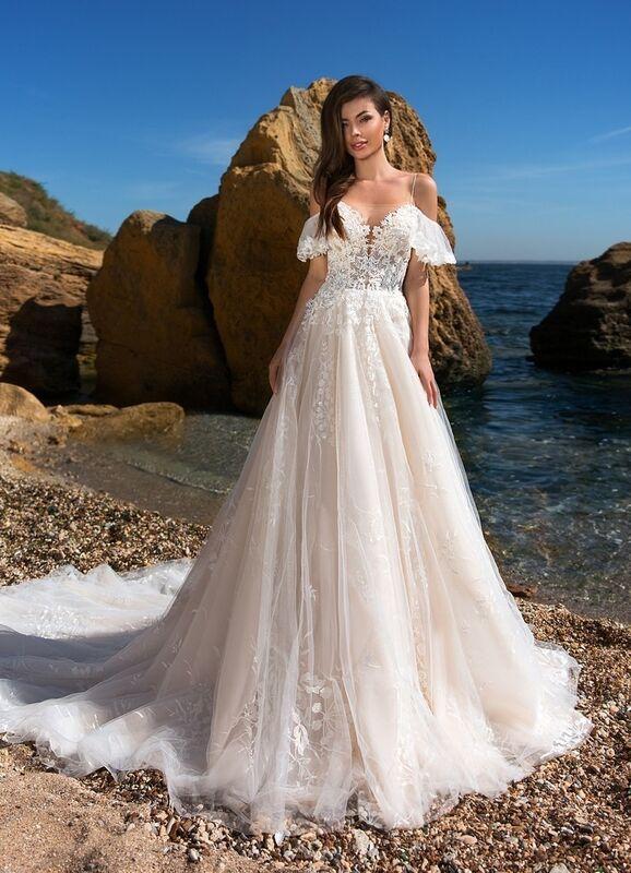 Свадебное платье напрокат Ida Torez Codakia Tigerina - фото 1
