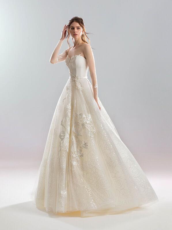 Свадебный салон Papilio Свадебное платье «Блеск дождя» - фото 1