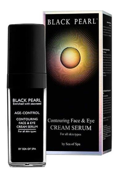 Уход за лицом Sea of Spa Контурный крем-серум для лица и глаз  Black Pearl 30 мл - фото 1