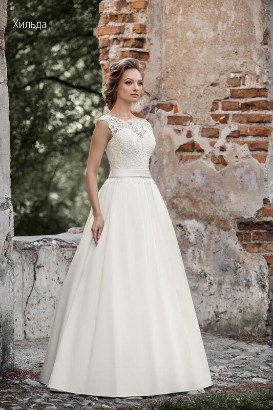 Свадебное платье напрокат Vintage Платье свадебное «Хильда» - фото 1