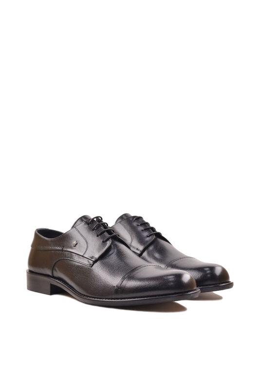 Обувь мужская HISTORIA Туфли дерби черные Sh.B.74518 - фото 4