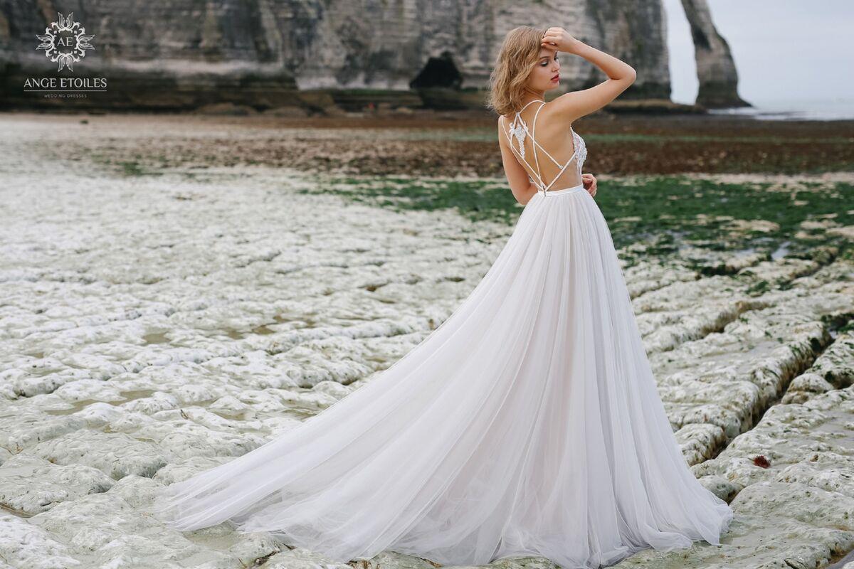 Свадебный салон Ange Etoiles Свадебное платье AEriality Collection Tea - фото 3