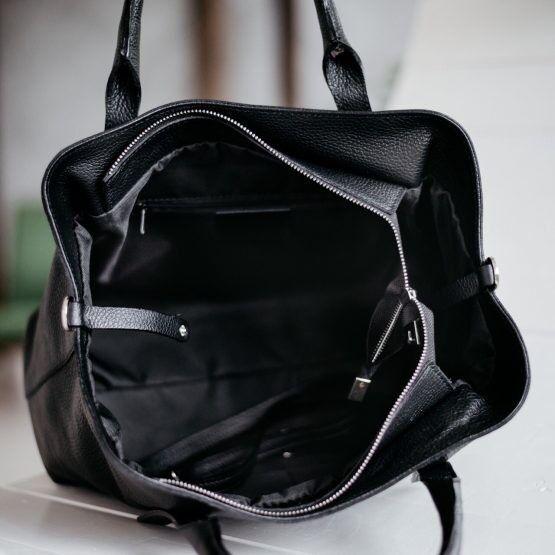 Магазин сумок Vezze Кожаная женская сумка C00466 - фото 3