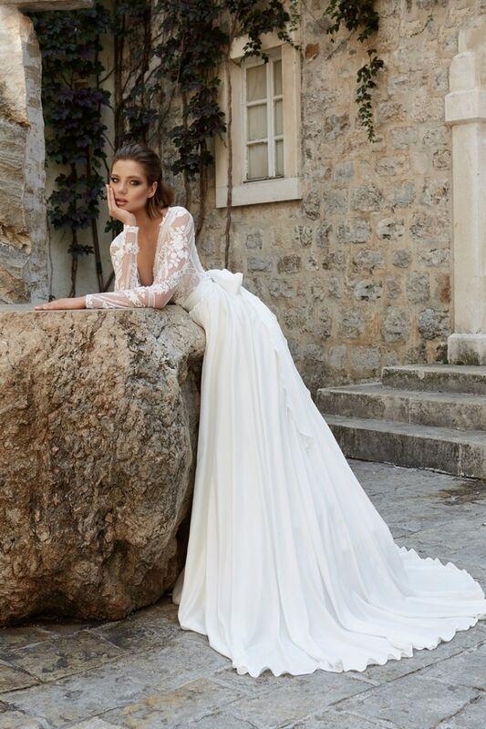 Свадебное платье напрокат Armonia Свадебное  платье Naiad - фото 1