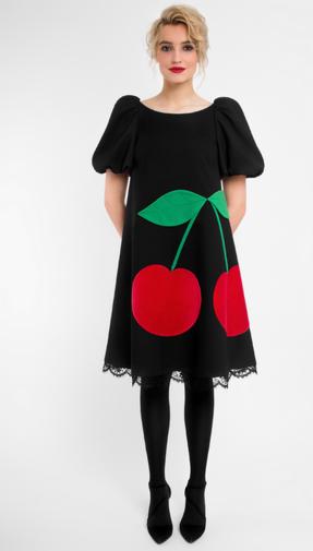 Платье женское Pintel™ Платье А-силуэта из натуральной шерсти Joaddan - фото 1