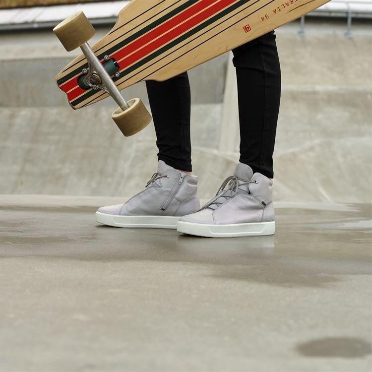 Обувь детская ECCO Кеды высокие S8 781103/01379 - фото 11