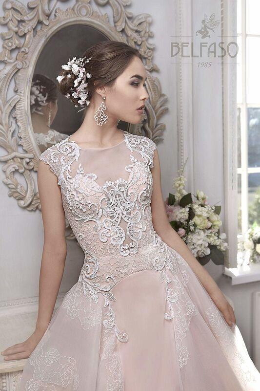 Свадебное платье напрокат Belfaso Платье свадебное Imodjin - фото 4