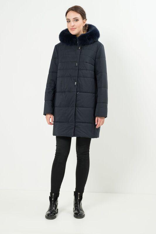 Верхняя одежда женская Elema Пальто женское плащевое утепленное 5-7298-1 - фото 2
