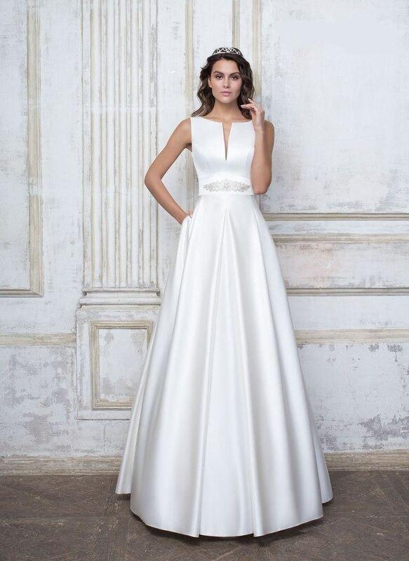 Свадебное платье напрокат Destiny Collection Платье свадебное 1737 - фото 1