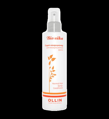 Уход за волосами OLLIN Спрей-кондиционер для неокрашенных волос BioNika - фото 1