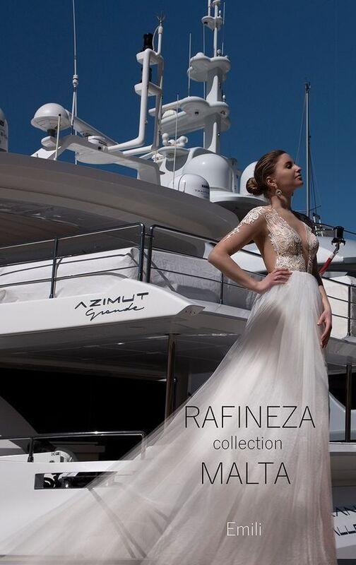 Свадебное платье напрокат Rafineza Платье свадебное Emili - фото 2
