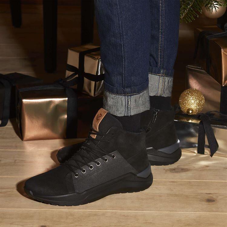 Обувь детская ECCO Кроссовки высокие INTERVENE 764643/51052 - фото 9