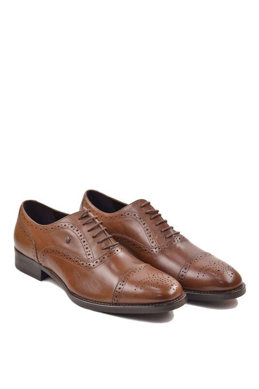 Обувь мужская HISTORIA Туфли оксфорд броги коричневые Sh.Br.73610 - фото 1