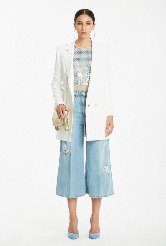 Пиджак, жакет, жилетка женские Elisabetta Franchi Жакет GI8614153 - фото 1