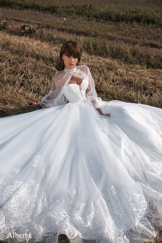 Свадебное платье напрокат Aivi Свадебное платье Alberta - фото 1