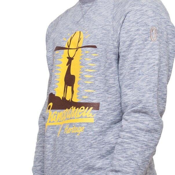 Кофта, рубашка, футболка мужская Запорожец Свитшот «Олень» - фото 2