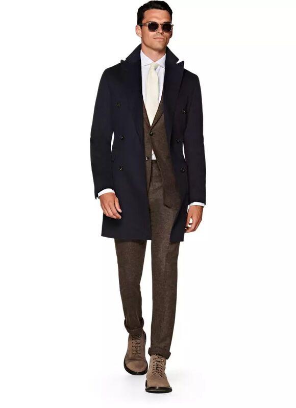 Верхняя одежда мужская SUITSUPPLY Пальто мужское Bleecker J620 - фото 1