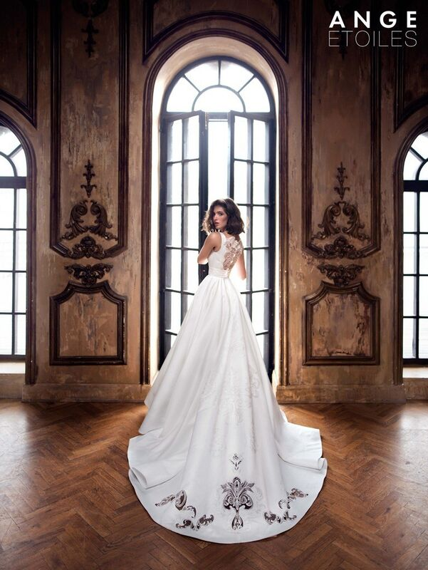 Свадебное платье напрокат Ange Etoiles Платье свадебное Charm 2017 Alda - фото 1