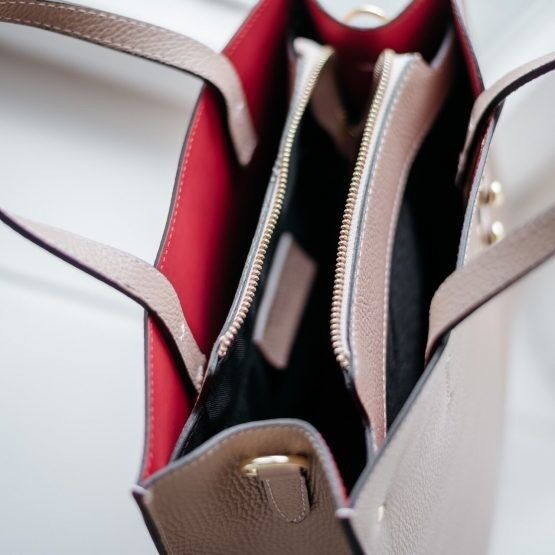 Магазин сумок Vezze Кожаная женская сумка C00463 - фото 3