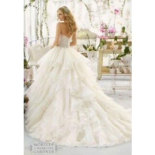Свадебное платье напрокат Mori Lee Платье свадебное 2815 - фото 2