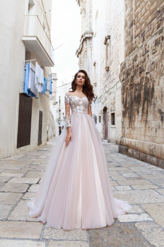 """Свадебное платье напрокат ALIZA Свадебное платье """"Enrica"""" - фото 1"""