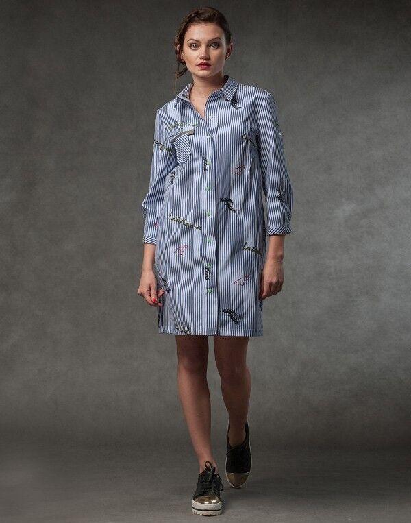 Платье женское MISUTERI Платье Sutorippu SS0122 - фото 1