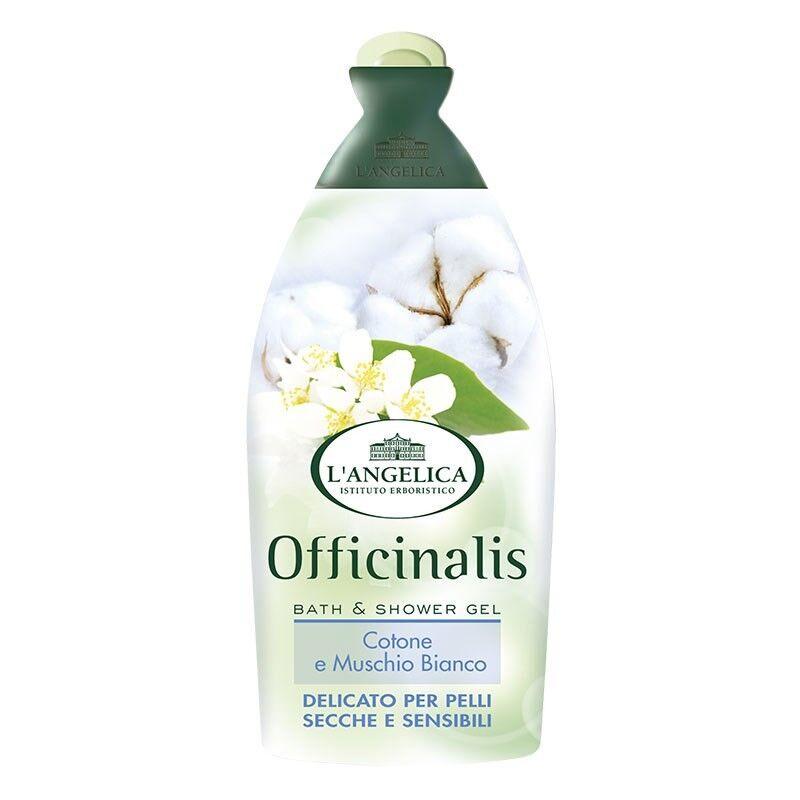 L' Angelica Officinalis Гель для ванны и душа с экстрактом белого мускуса и хлопка для чувствительной кожи