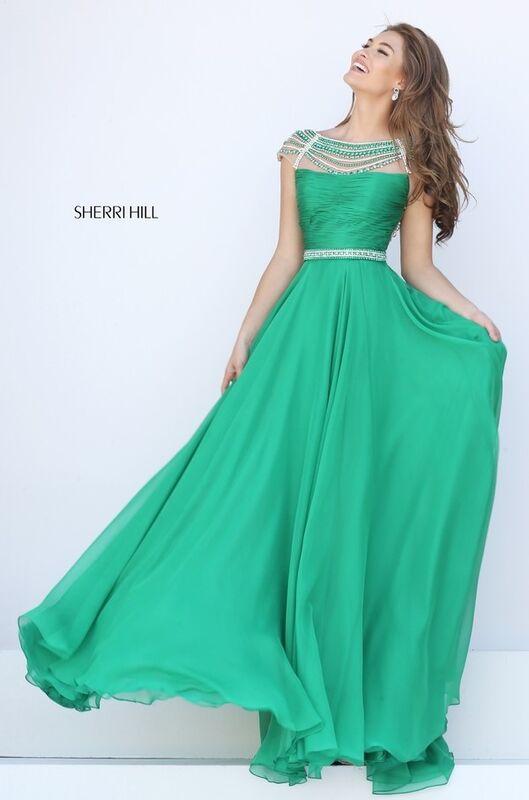 Вечернее платье Sherri Hill Платье вечернее 50414 - фото 5