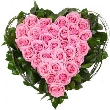 Магазин цветов Ветка сакуры Композиция «Сердце» 4 - фото 1