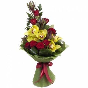 Магазин цветов Ветка сакуры Мужской букет №24 - фото 1