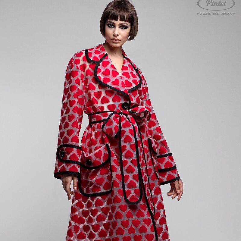 Верхняя одежда женская Pintel™ Плащ из органзы свободного силуэта Ranisha - фото 1