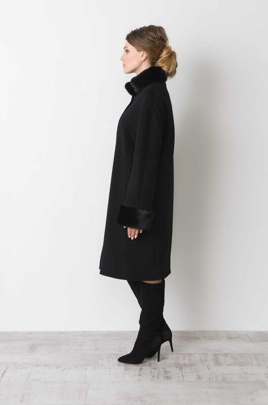 Верхняя одежда женская Elema Пальто женское зимнее Т-6593 - фото 2
