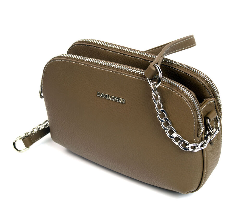 Магазин сумок David Jones Сумка женская коричневая 5602-2 - фото 3