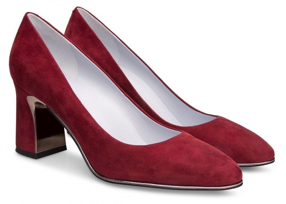 Обувь женская Alla Pugachova Туфли женские AP1902-01 dry tomato - фото 1