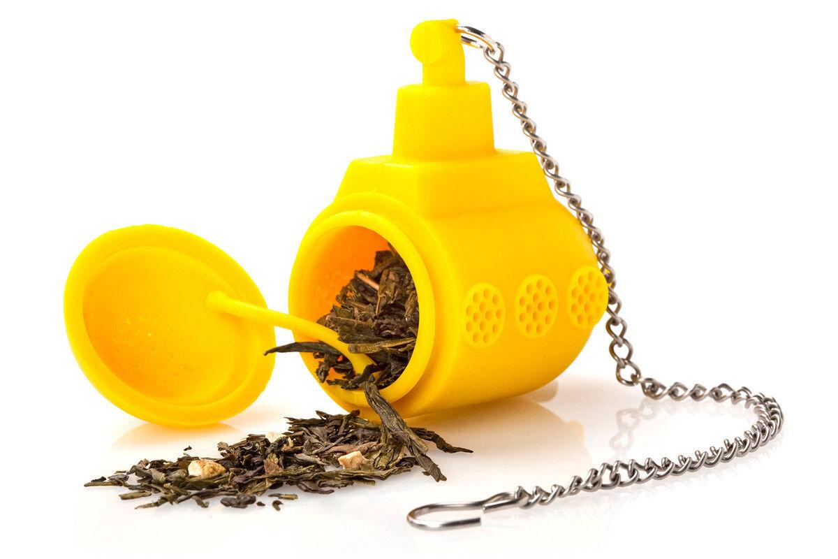Подарок на Новый год OTOTO Ёмкость заварочная Yellow submarine - фото 2