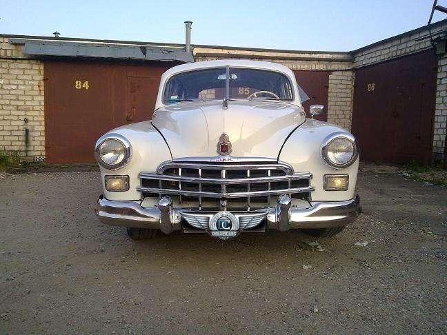 Прокат авто ГАЗ 12 ЗИМ белый - фото 3