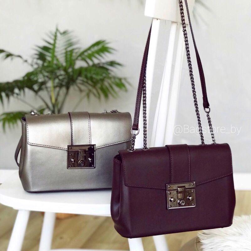 Магазин сумок Vezze Кожаная женская сумка C00383 - фото 1