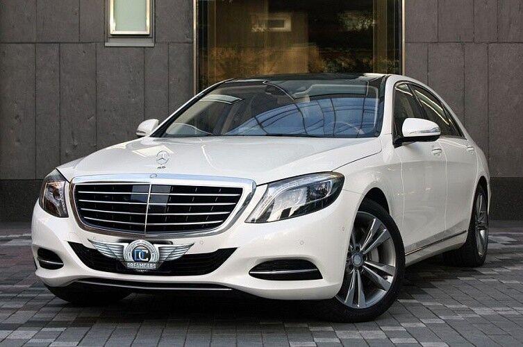 Прокат авто Mercedes-Benz W222 S-class белого цвета - фото 1