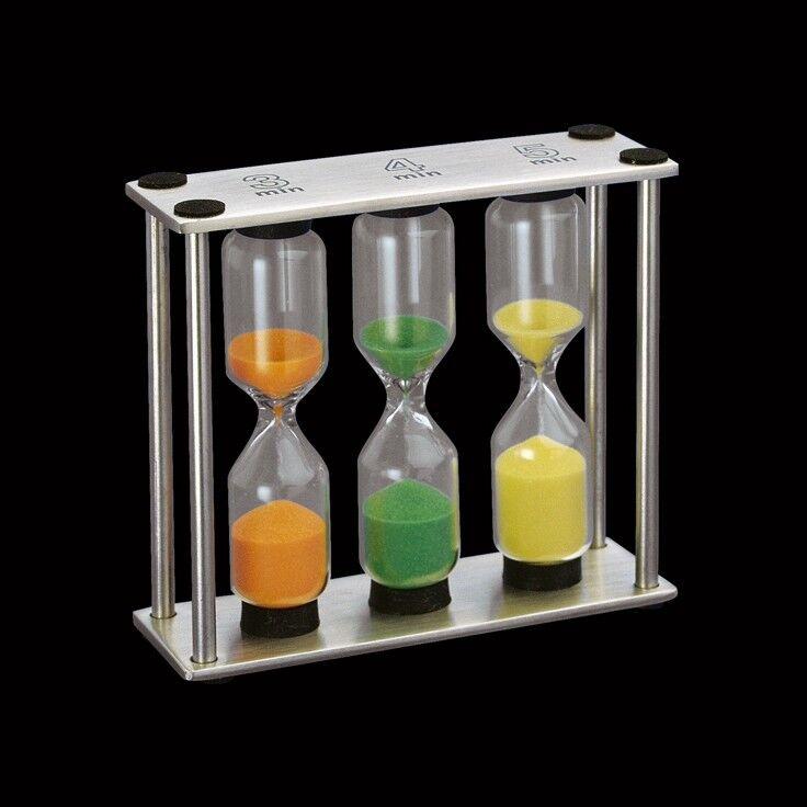 Подарок Cilio Песочные часы «Три времени» 3,4,5 мин, 201406 - фото 1
