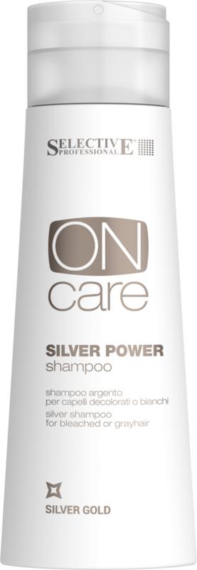 Уход за волосами Selective Серебряный шампунь для волос On Care Tech, 250 мл - фото 2