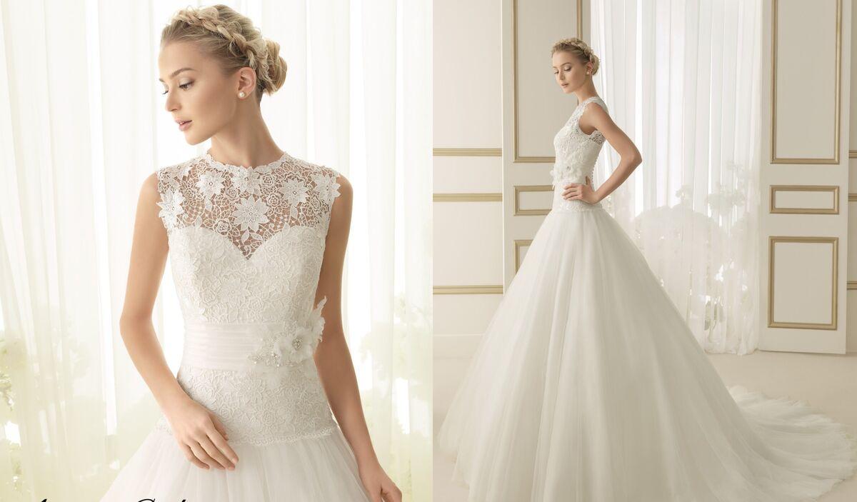 Свадебное платье напрокат Rosa Clara Платье свадебное Ember - фото 2