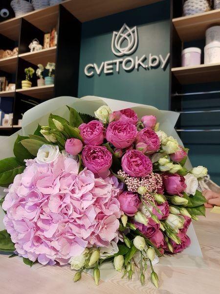 Магазин цветов Cvetok.by Букет «Мальва» - фото 1