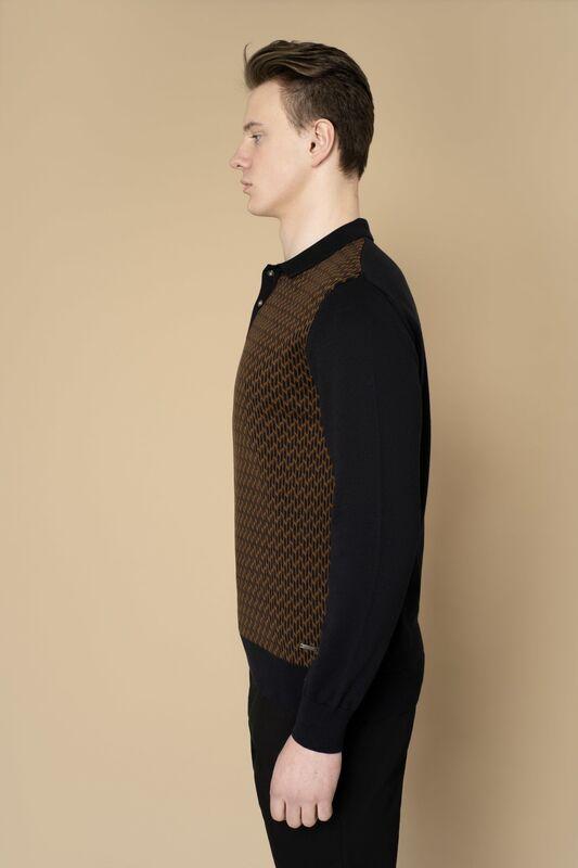 Кофта, рубашка, футболка мужская Etelier Джемпер мужской  tony montana 211395 - фото 6