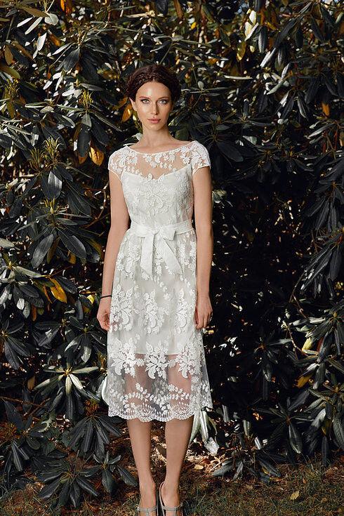 Свадебное платье напрокат Edelweis Платье свадебное «Fiona» - фото 1