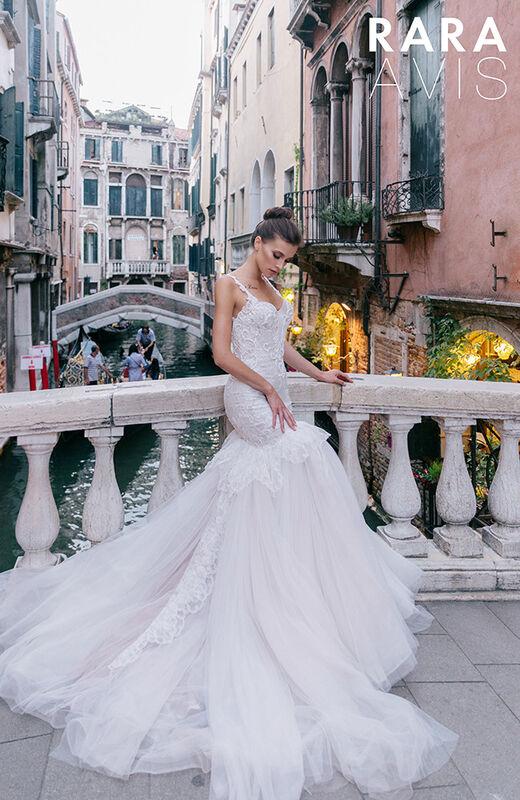 Свадебное платье напрокат Rara Avis Свадебное платье Gold - фото 1