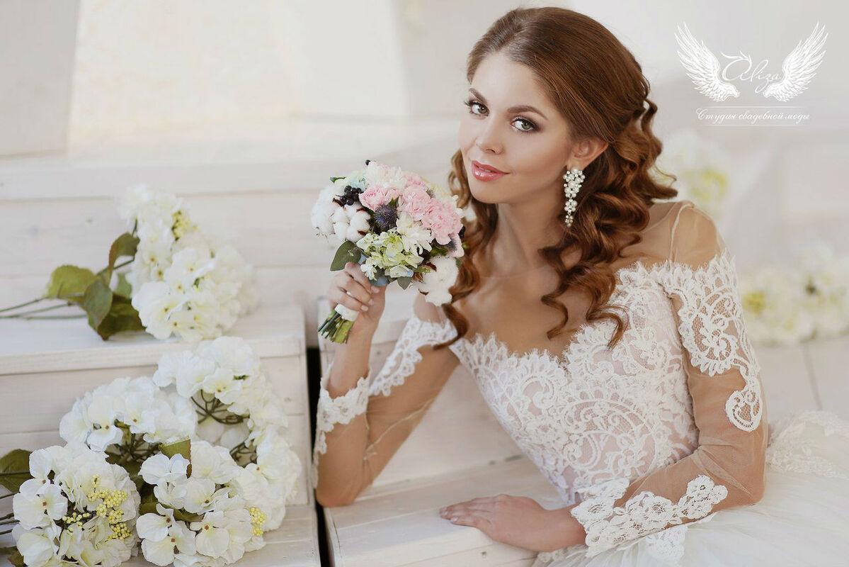 Свадебное платье напрокат ALIZA Платье свадебное «Amor 2» Soffito - фото 3