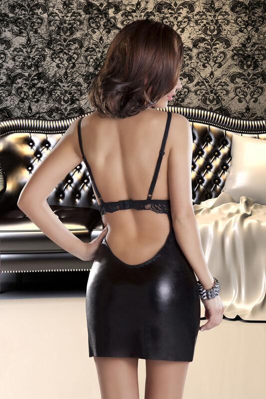 Интим-магазин Eroticon Платье Donna, чёрное, S/M - фото 2