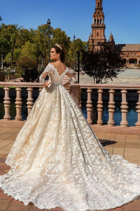 Свадебное платье напрокат Crystal Свадебное платье Amelia - фото 2